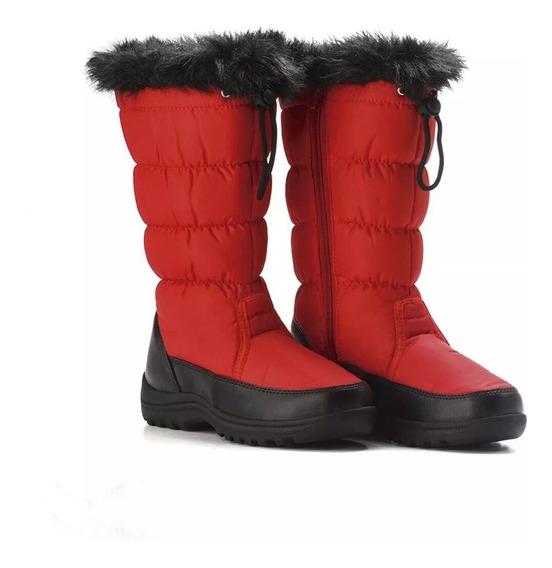 Botas Para Nieve Wetcloud Con Peluche Para Mujer