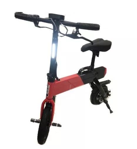 Bicicleta Elétrica Dobrável Mini 350w C/pedal Original Dsr