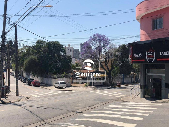 Terreno À Venda, 1000 M² Por R$ 4.000.000,00 - Jardim - Santo André/sp - Te0892