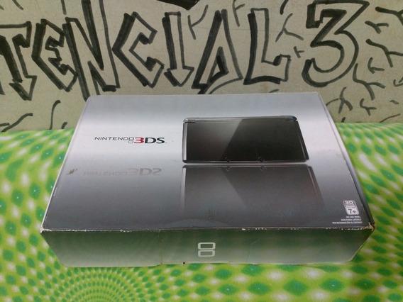 Nintendo 3ds Na Caixa 16gb + Varios Jogos À Escolha