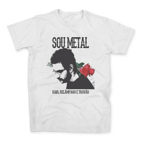 Camisa Camiseta Legião Urbana Musica Rock Mpb Renato Russo