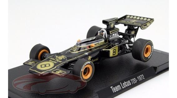 Emerson Fittipaldi - Lotus 72d Com Decalques - Não É Senna