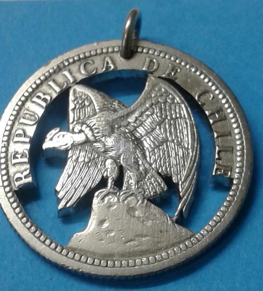 Moneda Chilena Calada A Mano B 31