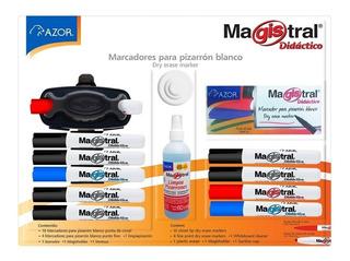 Magistral Paquete De Marcadores Para Pizarrón Blanco 18pz