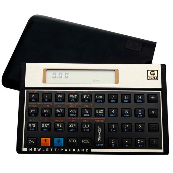 Calculadora Financeira 12c Hp Ouro