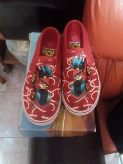 Tenis Slip-on Angry Birds Andrea