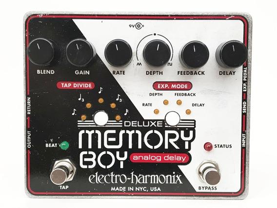 Electro Harmonix Ehx Deluxe Memory Boy Delay + Tap | Trocas
