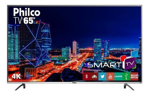 Imagem 1 de 4 de Tv Philco 65  Ptv65f60dswn 4k Led Bivolt