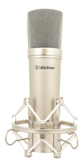 Alctron Mc002 Microfone Condensador Voz 32 Mm Completo Loja