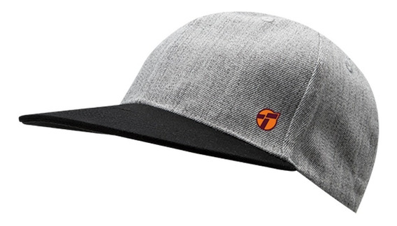 Gorra Topper Cap Flat Gris