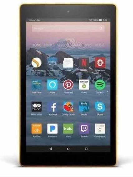 Tablet Amazon Fire Hd 8 2018 Kfkawi 16 Gb + Capinha + Caneta