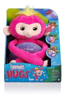 Fingerlings Hugs Peluche Mono Interactivo Bella!! Itoys