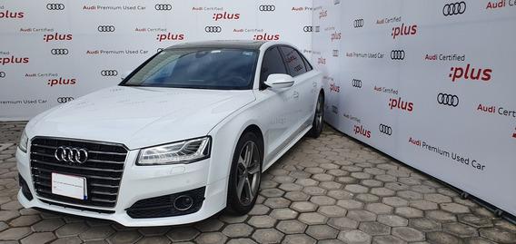 Audi A8 2018, Blanco, L, 4.0t