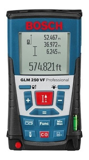 Telemetro Medidor Distancia Laser Bosch Glm 250 Vf 250mts
