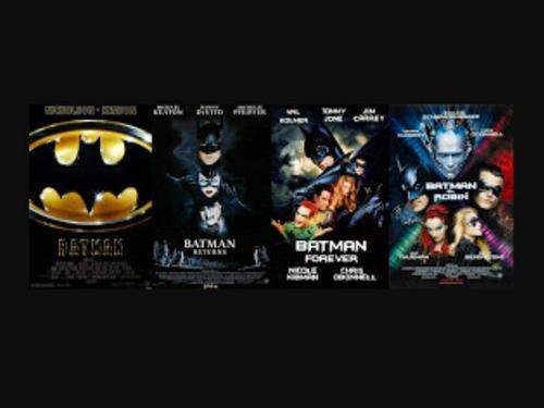Batman Coleccion Completa Sagas Dvd Final (8 Peliculas)