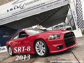 Dodge Charger 4p Srt-8 Aut 5 Vel Gamuza/piel Q/c R20