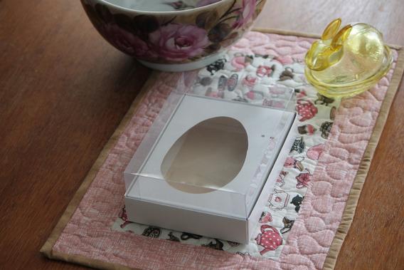 10 Caixas Para 1 Ovo De Colher/ Páscoa 350g Ou 250g - Branca