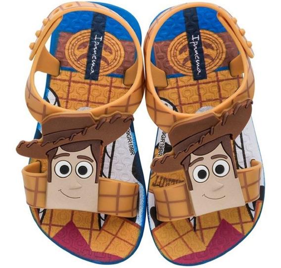 Chinelo Toy Story Woody Menino Disney 17 Ao 24