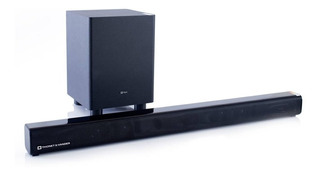 Barra De Sonido Dunn Con Bluetooth Y Wireless Subwoofer