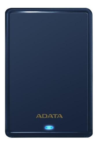 Imagen 1 de 3 de Disco duro externo Adata AHV620S-1TU3 1TB azul
