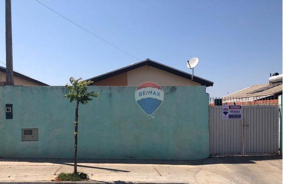 Casa Com 2 Dormitórios À Venda, 50 M² Por R$ 100.000 - Rubião Junior - Botucatu/são Paulo - Ca0257