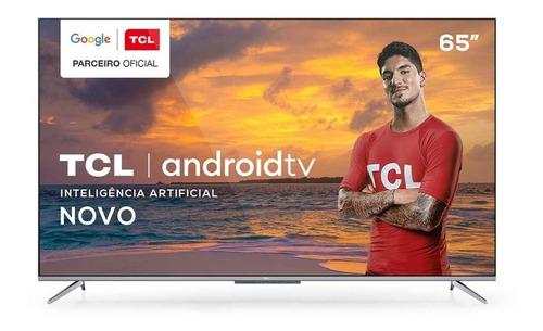Imagem 1 de 5 de Smart Tv P715 Led 65 Polegadas Uhd 4k Hdr Android Tv Tcl