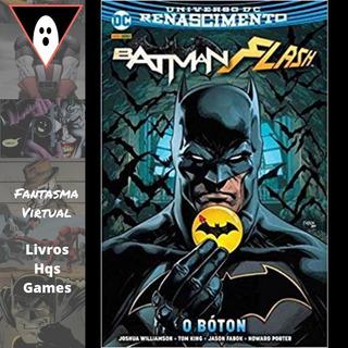 Hq Batman & Flash O Bóton Destaca Capa Dura Batman Mxthq
