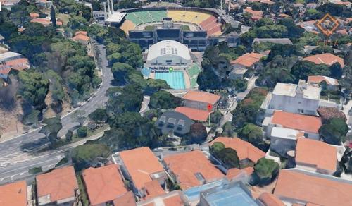 Terreno Para Alugar, 506 M² Por R$ 10.000,00/mês - Pacaembu - São Paulo/sp - Te1053
