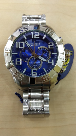 Relógio Atlantis Original Estilo Techos Legacy Frete Gratis