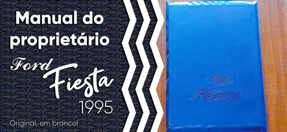 Manual Do Proprietário Ford Fiesta 1995