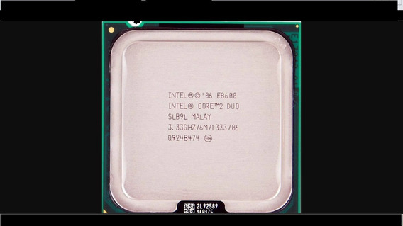 Processador Core 2 Duo E8600 3,33 Ghz