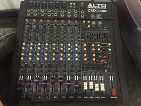 Mesa De Som Alto Professional Zmx 124 Fx Usb