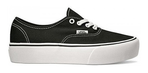Zapatillas Vans Authentic Plataforma Original Envio Gratis