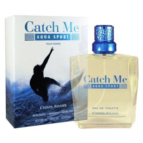 Perfume Chris Adams Catch Me Aqua Sport Edt M 100ml