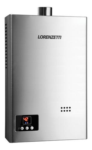 Aquecedor A Gás Lorenzetti Lz 1600di 15 Litros Glp