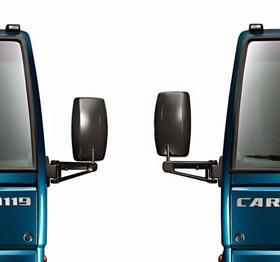 2 Espelho Retrovisor Ford Cargo 815e/816/1119 Grande Inteiro