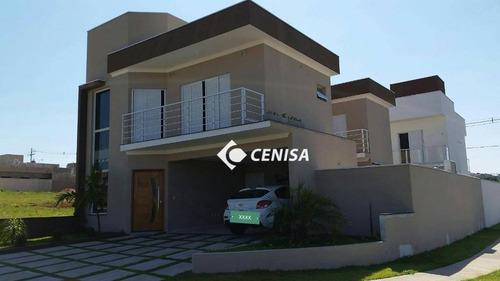 Casa Com 3 Dormitórios À Venda, 182 M² Por R$ 798.000,00 - Condomínio Park Real - Indaiatuba/sp - Ca2249