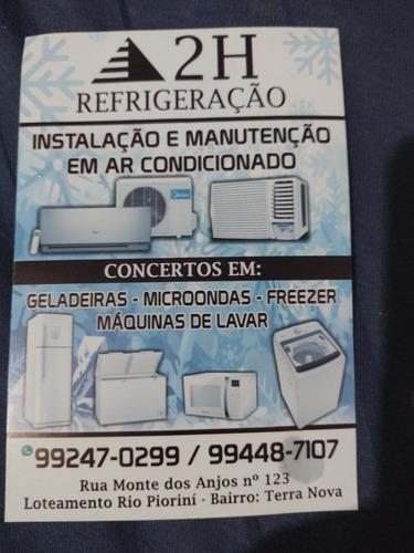 Limpeza E Manutenção Em Ar Condicionado, Geladeira,freezer.