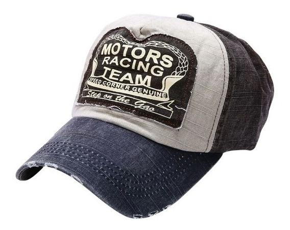 Gorras Caps Motor Racing Team Vintage Gastadas