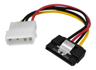 Cable Power Sata 15 Cm A Molex Con Traba Nisuta Ns-caposat