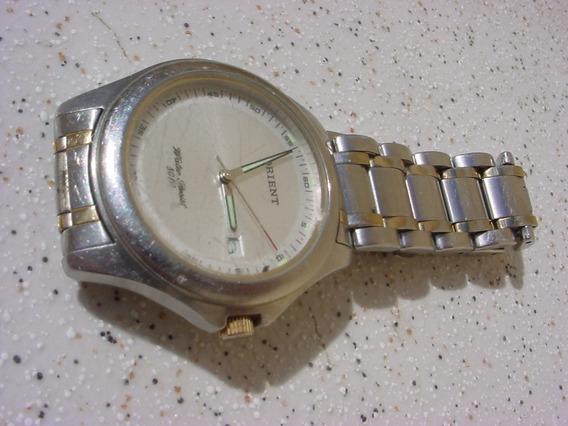 Antigo Relógio Orient Quartz Pulseira Original Decada 70 !!!