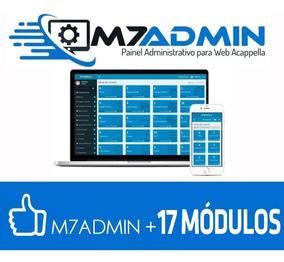 Sistema De Gerenciamento De Sites Web Acappella + 17 Modulos