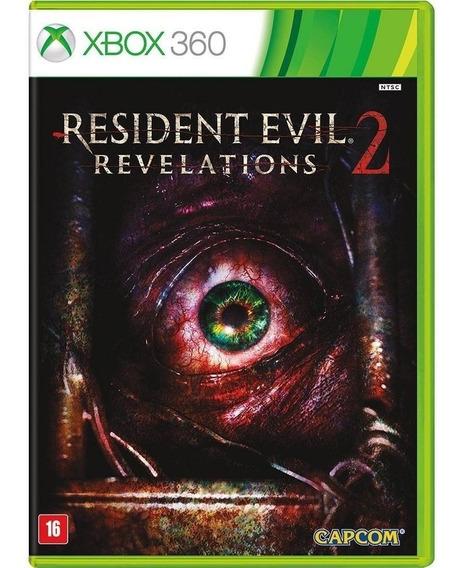 Resident Evil Revelations 2 - Midia Fisica Lacrado Xbox 360