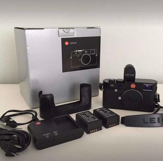 Câmera Leica M240 Preta - Corpo - Com Acessórios Grátis