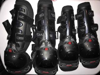 Kit Scoyco 4 Piezas Rodilleras Coderas Moto Proteccion