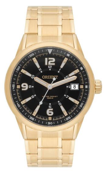 Relogio Orient Masculino Dourado Esportivo Original A Prova Dagua Com Garantia De Fabrica E Nota Fiscal Mgss1107 P2kx