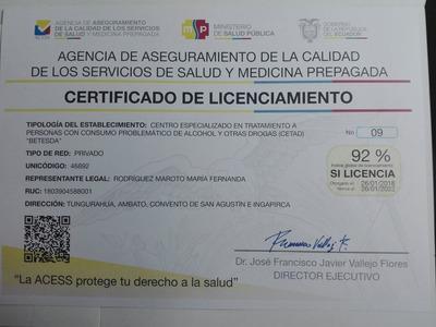 Centro De Rehabilitacion Alcoholismo Drogadiccion Adicciones