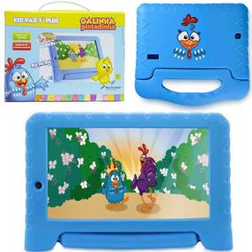 Tablet Galinha Pintadinha Infantil 7 Pol 1gb Ram Quad Core