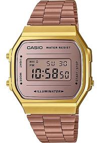 Relógio Casio Vintage Feminino A168wecm-5df