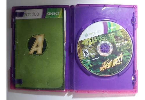 Imagem 1 de 3 de Jogo Kinect Adventures Original Mídia Física Novo Xbox 360